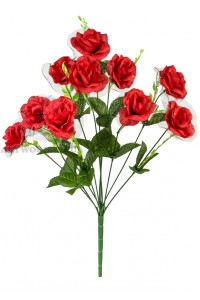 Букет троянда з вуаллю А771