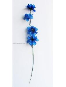 """Искусственный цветок """"Ветка василек """""""