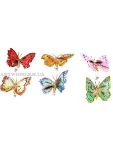 Бабочка на прищепке DE 9131